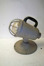 Vintage aluminum Natale circle D spot light lamp industrial steam punk