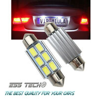 Ampoule navette Blanc Premium 39-40mm C5W Canbus anti erreur 6LED ESS TECH® 4Pcs