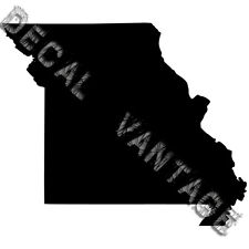 Missouri Vinyl Sticker Decal State MO - Choose Size & Color