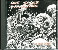 LES SALES MAJESTES Dernier Combat French CD 1998 Punk