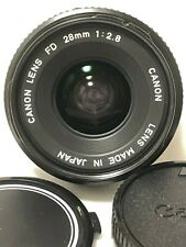【Mint】Canon New FD 28mm F/2.8 Wide Angle Lens From Japan