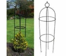 New Garden Support Obelisk Climbing Plant Flowers Grow Steel Frame Easy Tree