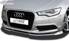 RDX Spoilerlippe für Audi A6 C7 Typ 4G ab Bj. 2010 Schwert Front Ansatz Splitter