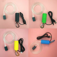 3X(Usb Mini Aeration Pump Air Pump Aquarium Aerator Ultra Quiet Mini Fish T H9R5