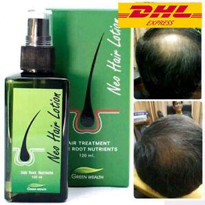 NEO Hair Lotion Longer Root Treatment Nutrients Longer Hair Thai Herbal 120 ml.