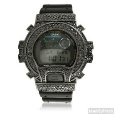 Top Quality Black Lab Made Iced Out G Shock Watch