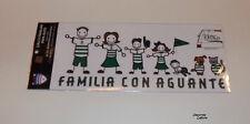 "SANTOS LAGUNA ""FAMILIA CON AGUANTE"" SET OF 8 STICKERS - OFFICIALLY LICENSED"