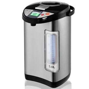 Costway 5L LCD Water Boiler & Warmer Electric Hot Pot Kettle Hot Water Dispenser