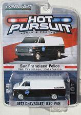 GL HOT PURSUIT SERIES 11 1977 CHEVROLET G20 VAN - SAN FRANCISCO, CA POLICE