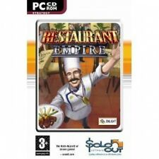 RESTAURANT EMPIRE ( PC GAME ) NEW SEALED