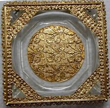 Vintage Florenza Ormolu Style Trinket Ring Vanity Dresser  Tray~New Old Stock