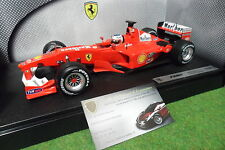 F1 FERRARI F2001 formule 1 BARRICHELLO #2 SPONSOR MARLBORO 1/18 HOT WHEELS 50171