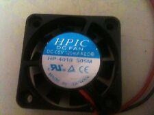 HPIC DC-05 volt 40x40x10.5 DC Fan Lot of 100+ ???