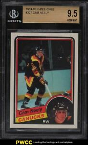 1984 O-Pee-Chee Hockey Cam Neely ROOKIE RC #327 BGS 9.5 GEM MINT