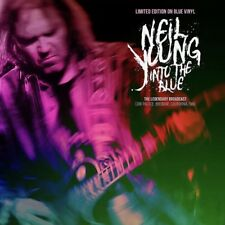 NEIL YOUNG - INTO THE BLUE: LIMITED EDITION BLUE VINYL NEW 2018 LP