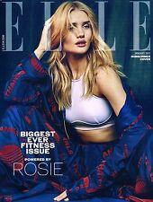 ELLE UK January 2017 Ltd Edition ROSIE HUNTINGTON-WHITELEY Magdalena Jasek @NEW