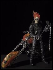 "Ultimate Ghost Rider Marvel Legends Icons 12"" With Motorcycle"