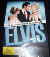 Live A Little Love A Little - Elvis Presley (Australia Region 4) DVD – New
