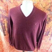 Gant purple 100% Lambswool Jumper. UK men's size XL