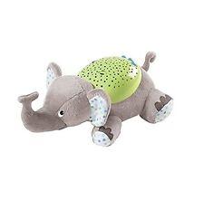 Projector Baby Bedtime Companion Eddie The Elephant Night Light Child Room Stars