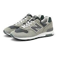 NEW New Balance MEN M1400CSP 1400 GREY WHITE MADE IN USA RUNNING SNEAKERS 5.5 D