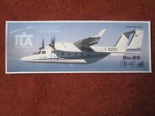 AUTOCOLLANT STICKER AUFKLEBER AVION AIRCRAFT SUKHOI SU-80 ILA BERLIN 2004