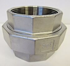 "New 4"" FNPT Union 304 Stainless Steel Class 150"