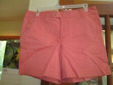 NWT Eddie Bauer Wm's Sz 16 Regular Dusty Rose Chino Shorts