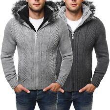 Grobe Herren-Pullover & -Strickware aus Acryl mit Regular und Reißverschluss