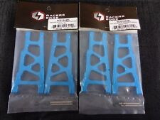 Traxxas Slash 4wd 4x4 Blue Aluminum A-Arms Arm Set Front & Rear with Hinge Pins