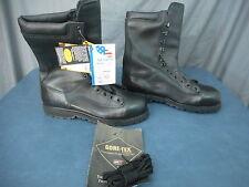 Matterhorn Black Mens Boots USA MADE Gortex ANSI Z41 PT91 EH Vibram, Safety Box