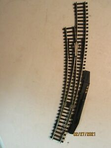 1-Atlas No 255 Curved Switch w/Operator C-7 Condition, HO Scale