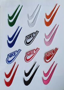 Nike Marque Logo Patch Thermocollant à Coudre Brodé / Badge Pour Vêtements