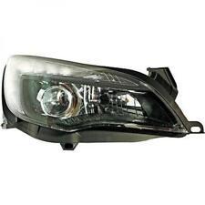 LHD Projecteur LED DRL Phare avant Paire Transparent Noir H7 H7 pour Opel Astra