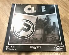 New Sealed Clue Silver Line Edition Board Game Hasbro Gaming Exclusive C3547