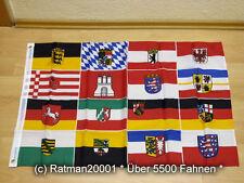 Fahnen Flagge 16 Bundesländer - 60 x 90 cm