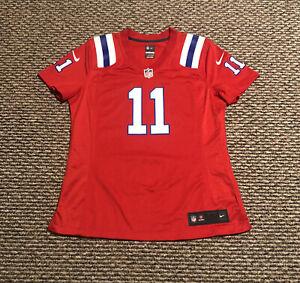 New Julian Edelman #11 Jersey Nike Women's Medium V-Neck New England Patriots