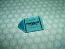Ultra Rare Vintage 1980s Blue Kutsuwa Pops Club Jelly Crayon eraser rubber gomme