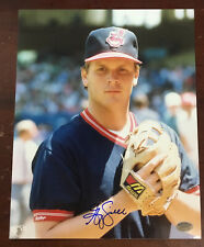 Greg Swindell Autographed 8x10 Photo Cleveland Indians COA