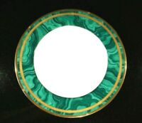 Beautiful Christian Dior Gaudron Malachite Dinner Plate