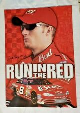 "Nascar's Dale Earnhardt Jr. ""Run In The Red"" Budweiser 27"" x 19"" Poster"