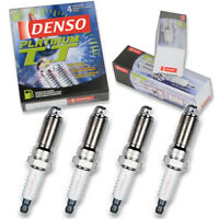 4 pc Denso Platinum TT Spark Plugs for 2011-2017 Buick Regal 2.0L 2.4L L4 lh