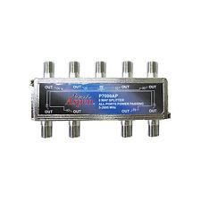 Eagle Aspen P7008AP 8 Way Satellite Splitter All Port DC Power Passing 5 - 2600