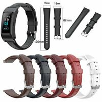 Wax Leather Wrist Watch Band Bracelet Strap For Huawei Talkband B5 Smart Watch