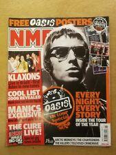 NME NOVEMBER 8 2008 KLAXONS OASIS ARCTIC MONKEYS THE COURTEENERS KILLERS JAY-Z