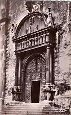TENDE 5032 porte de la cathédrale