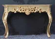 Konsolentisch Venice Gold Im Barockstil - Frisiertisch Schminktisch 120cm