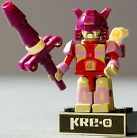 ALPHA TRION Kre-O Transformers 2013 Series 4 Mini Figures Micro Changers