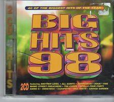 (ES335) Big Hits 98, 40 tracks various artists - 2 Disc  - 1998 CD