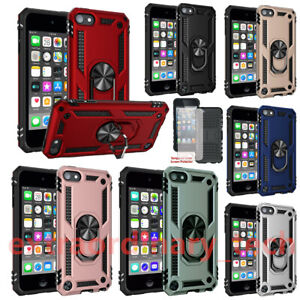 Armour Heavy Duty Shockproof Case For iPod Touch 7th 6th & 5th Gen Ring & Stand